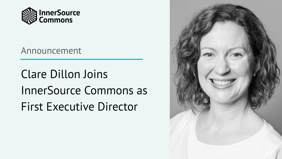 Clare Dillon Joins InnerSource Commons as First Executive Director