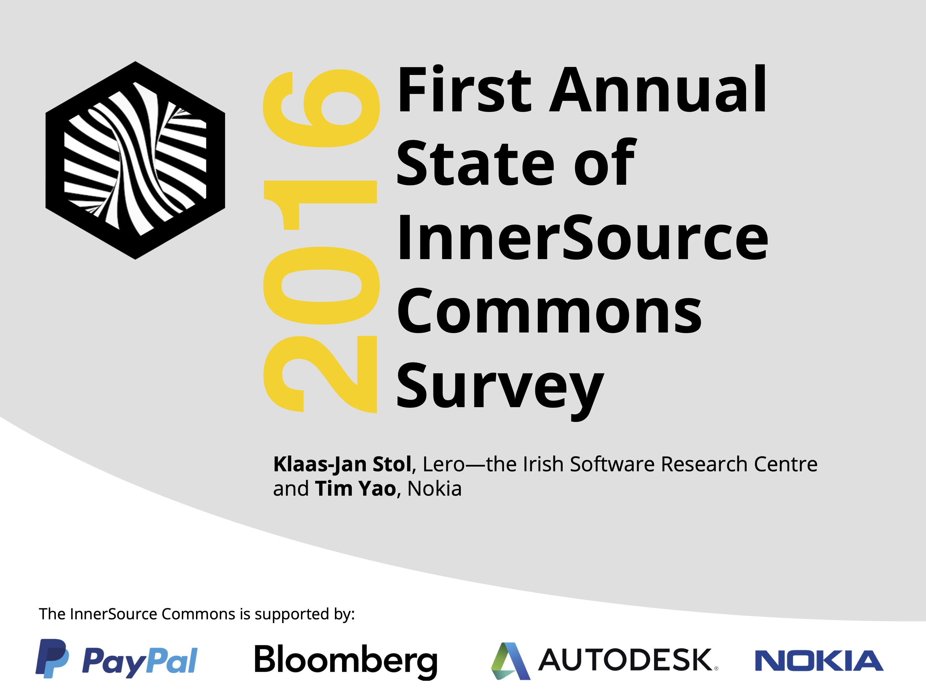 State of InnerSource Survey 2016